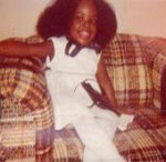 Kalisha on Easter, 1980, Kankakee, Illinois