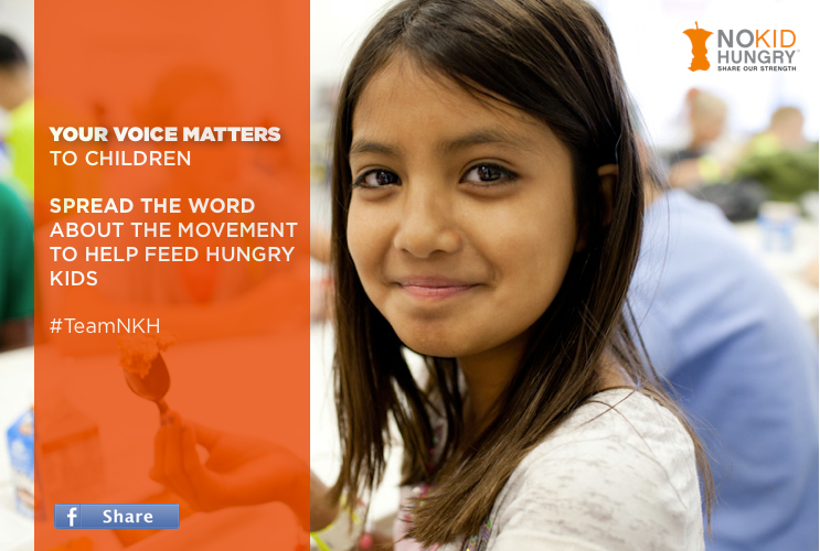 No Kid Hungry Facebook
