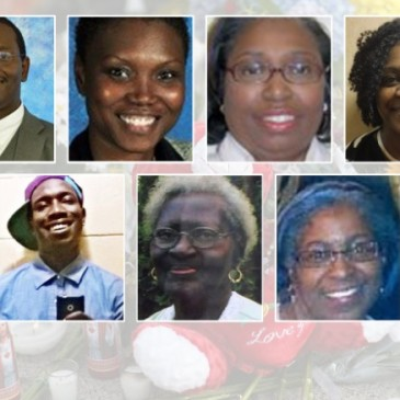 Victims of the Charleston church attack