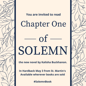 Chapter One of Solemn