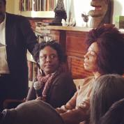 Kalisha Buckhanon and Terry McMillan at Harlem Arts Salon - negression