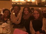 Kalisha with friends in Manhattan - negression
