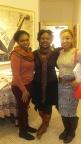 Marsha, Kalisha and Ebony at Harlem Arts Salon