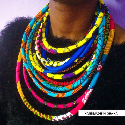 Ohema necklace at Calabar Imports Harlem