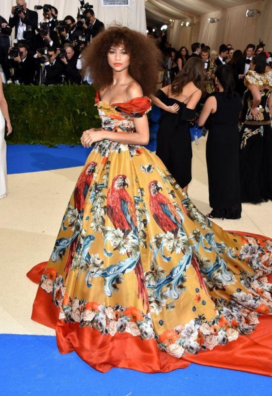 Zendaya in Dolce and Gabbana