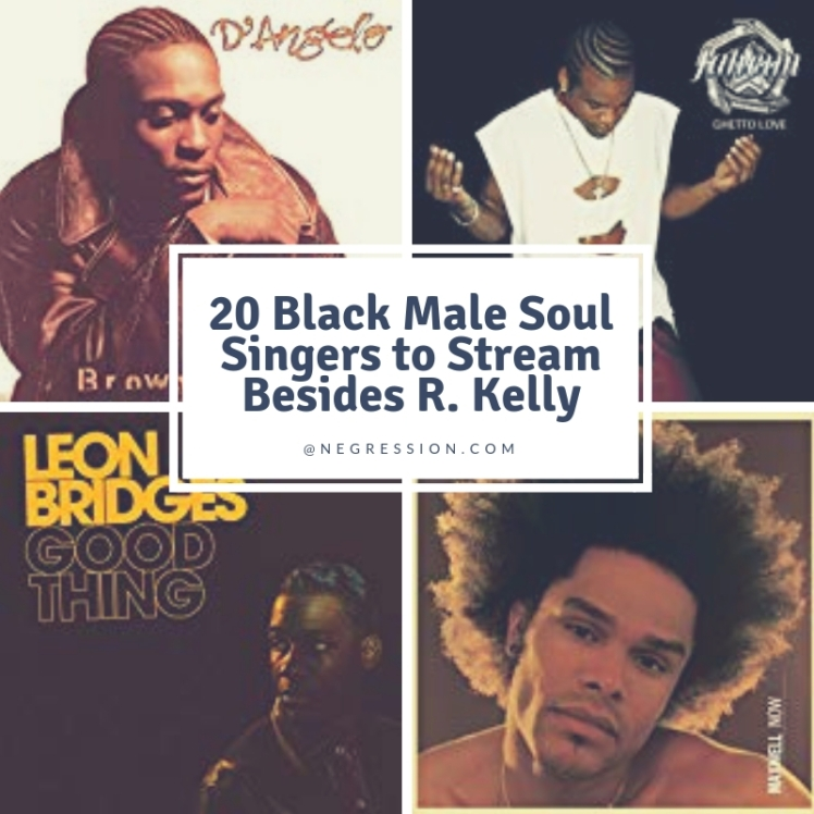 20 Black Male Soul Singers to Stream...