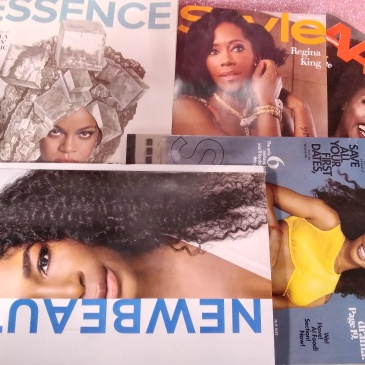 Black women grace winter covers