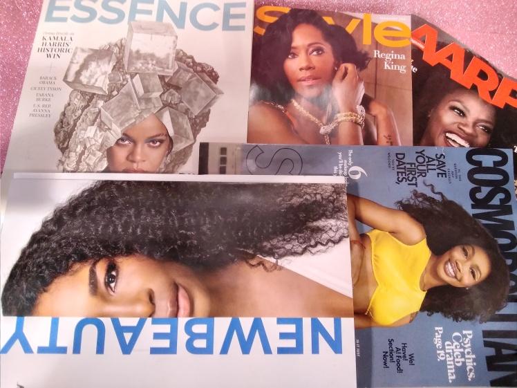 Black women grace winter covers